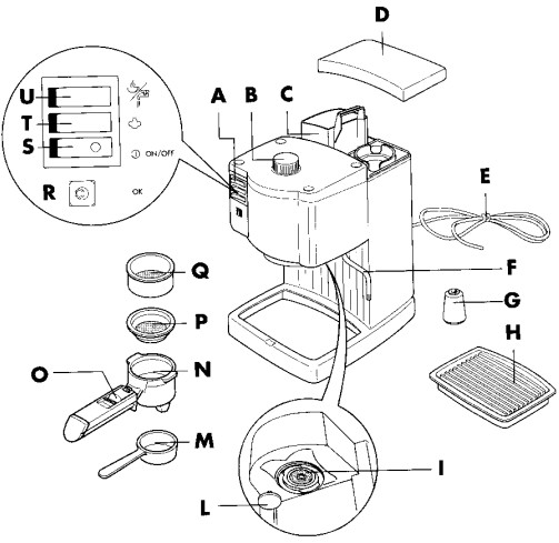 Delonghi Ec 410 инструкция - картинка 1